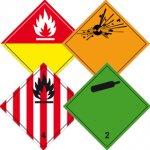 Gefahrgut-Gefahrstoff